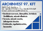 Archinvest '97 Kft.